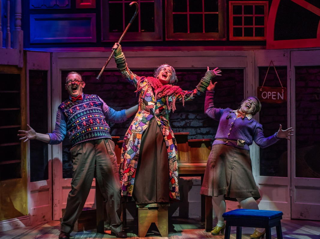 Photograph from The Elves and the Shoe Maker - lighting design by James McFetridge
