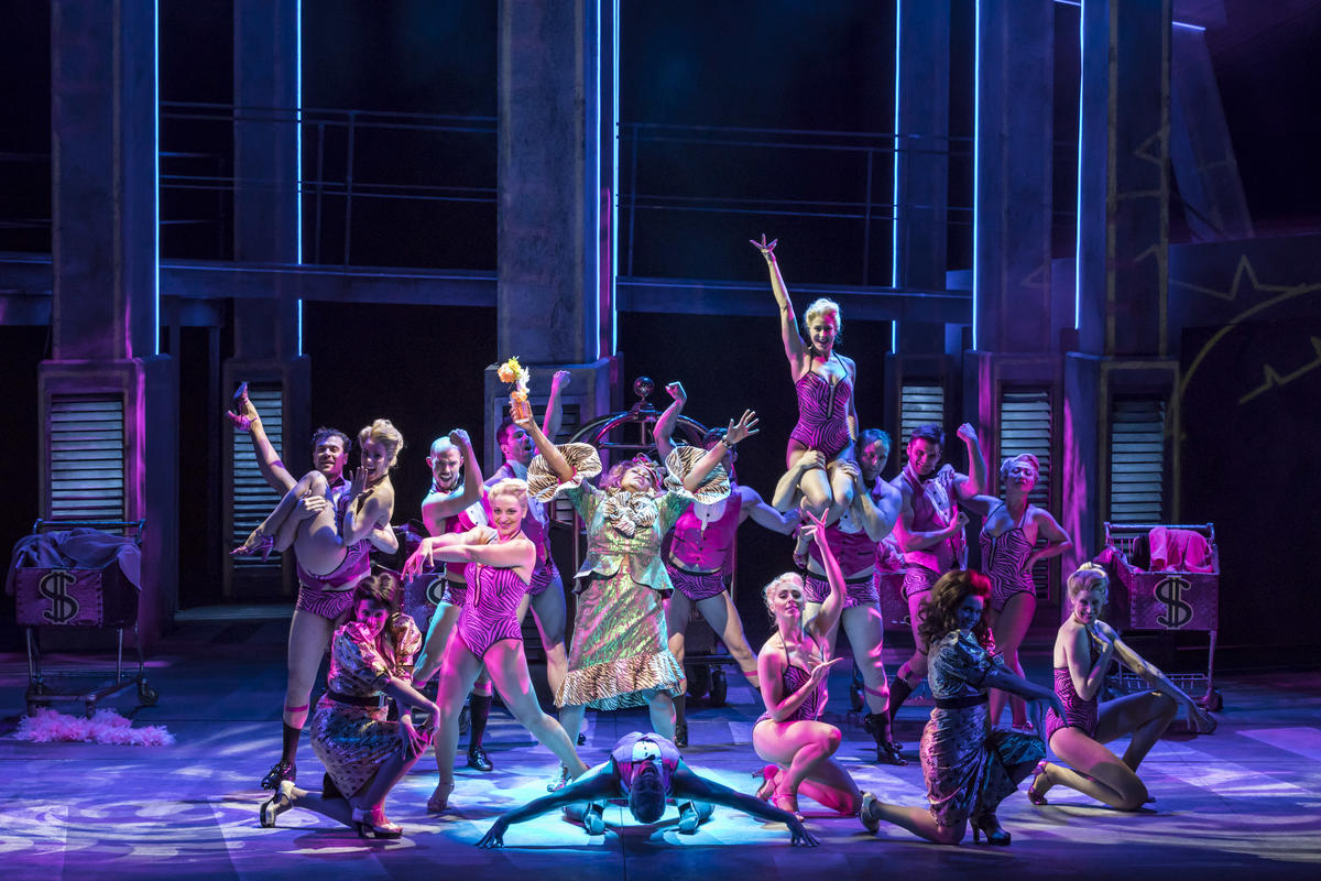 Photograph from Ghost The Musical - lighting design by Michael Grundner