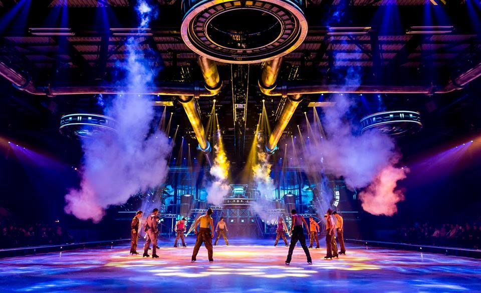 Photograph from Holiday On Ice Believe - lighting design by Luc Peumans