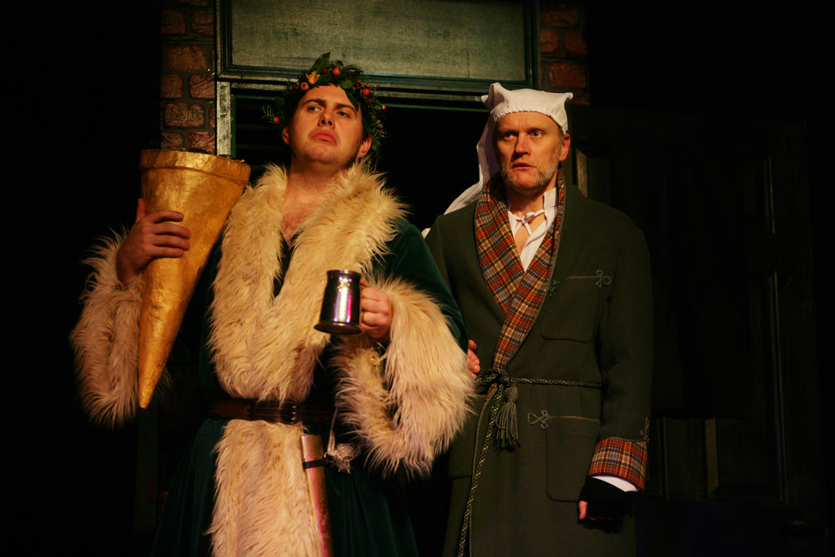 Photograph from A Christmas Carol - lighting design by Jason Addison