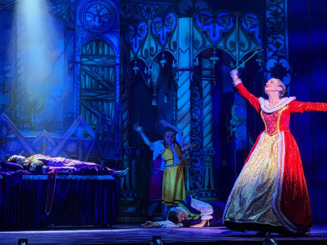 Photograph from Sleeping Beauty - lighting design by Matt Ladkin