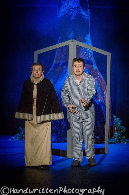 Photograph from Tom's Midnight Garden - lighting design by Nigel Lewis