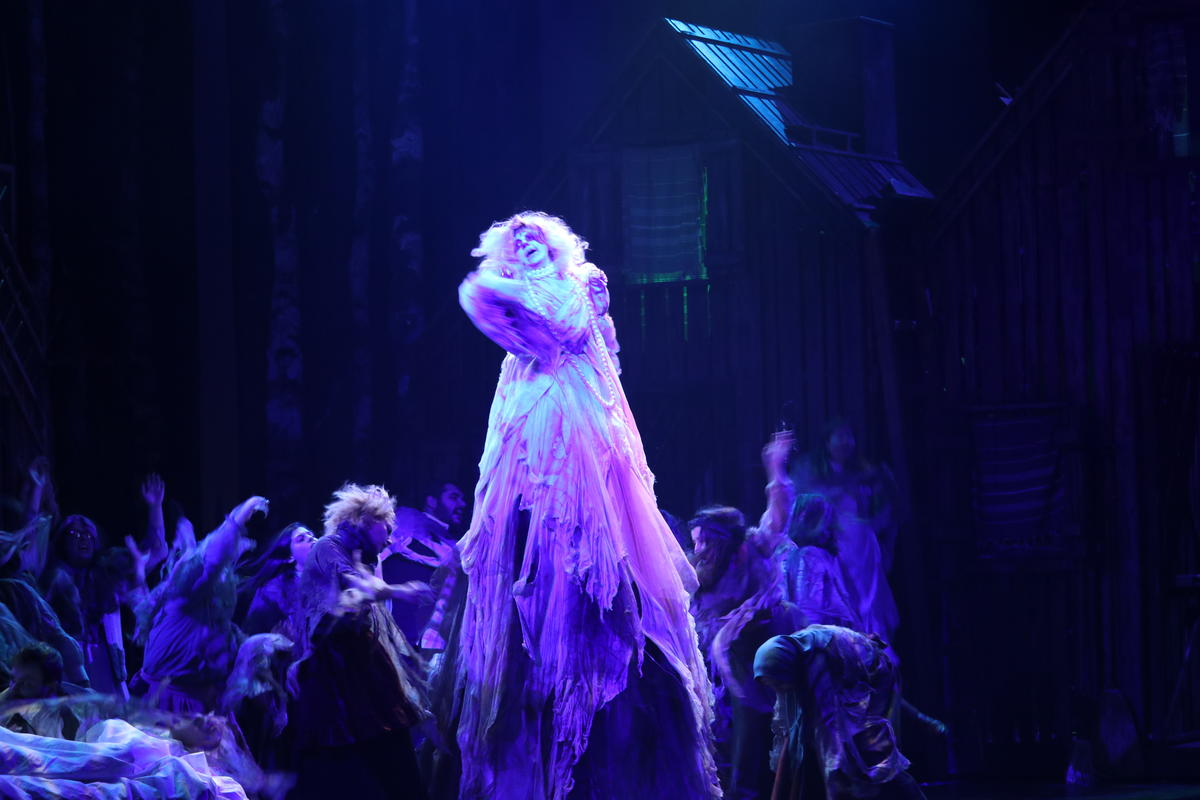 Photograph from Fiddler on the Roof - lighting design by Richard Williamson