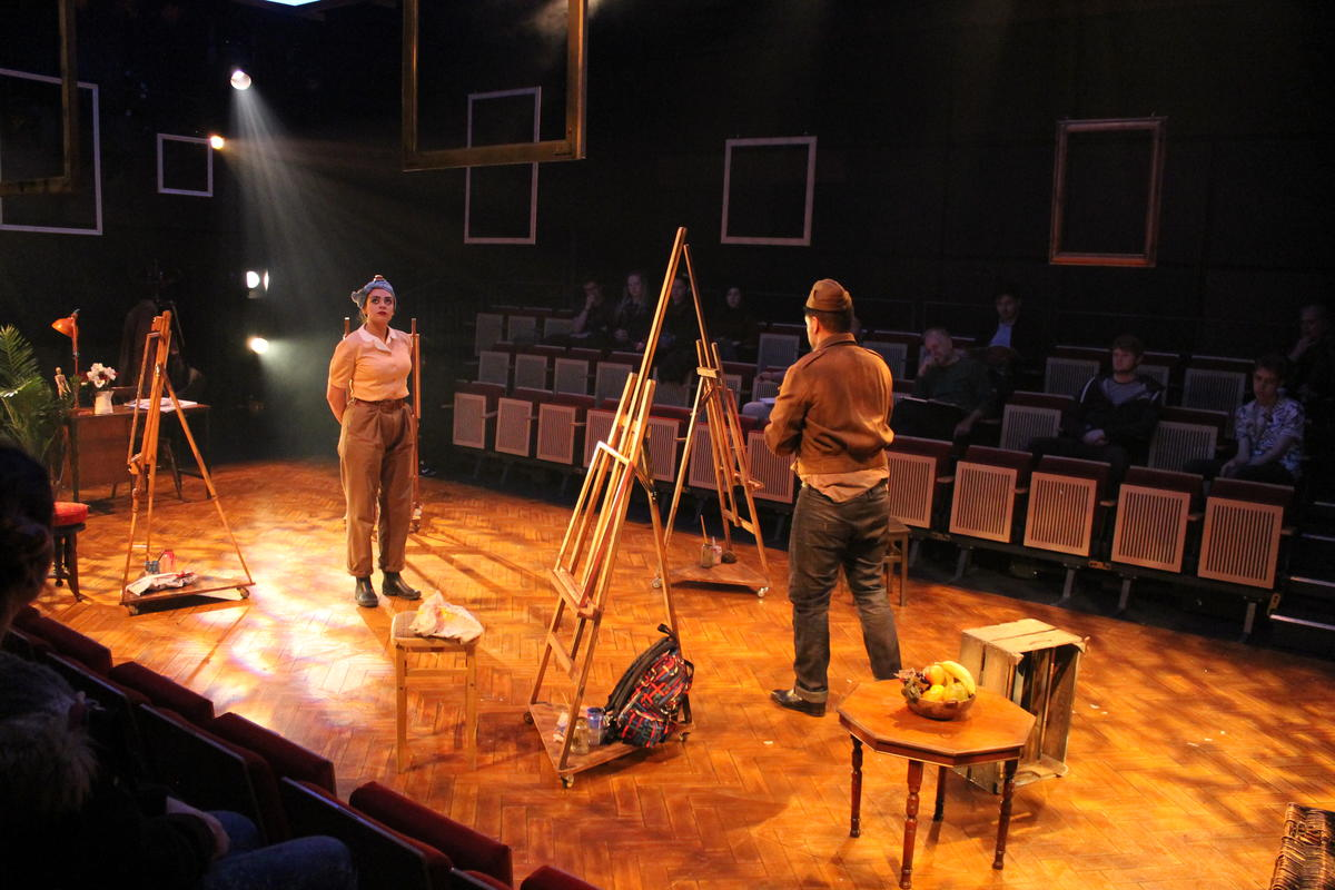 Photograph from Opera Scenes - lighting design by Jack Wills