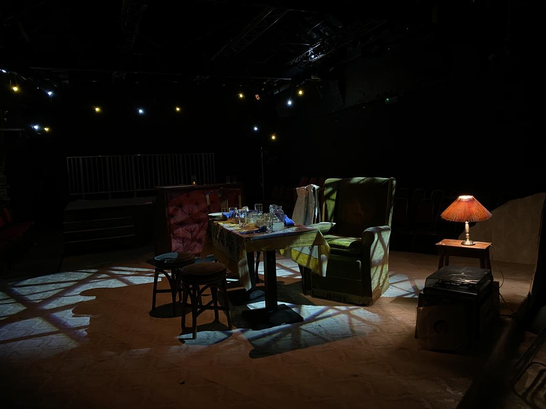 Photograph from Welcome to Shangri-La - lighting design by Joseph Ed Thomas