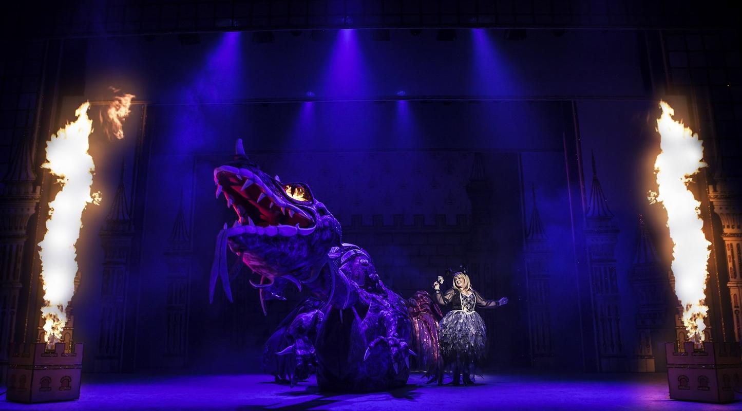 Photograph from Sleeping Beauty - lighting design by Mark Dymock