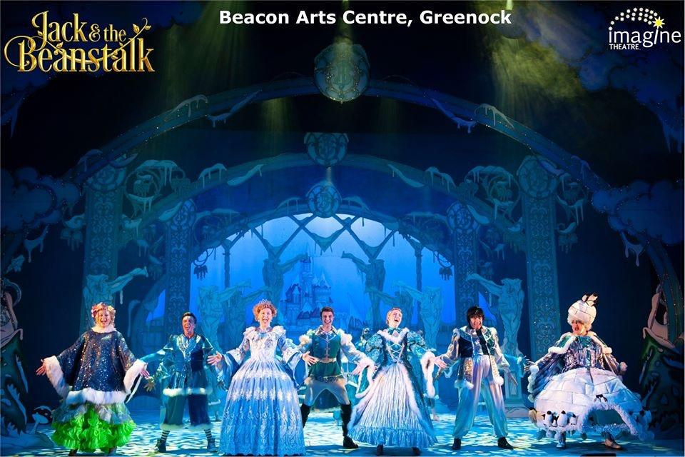 Photograph from Jack & The Beanstalk - lighting design by Matt Ladkin
