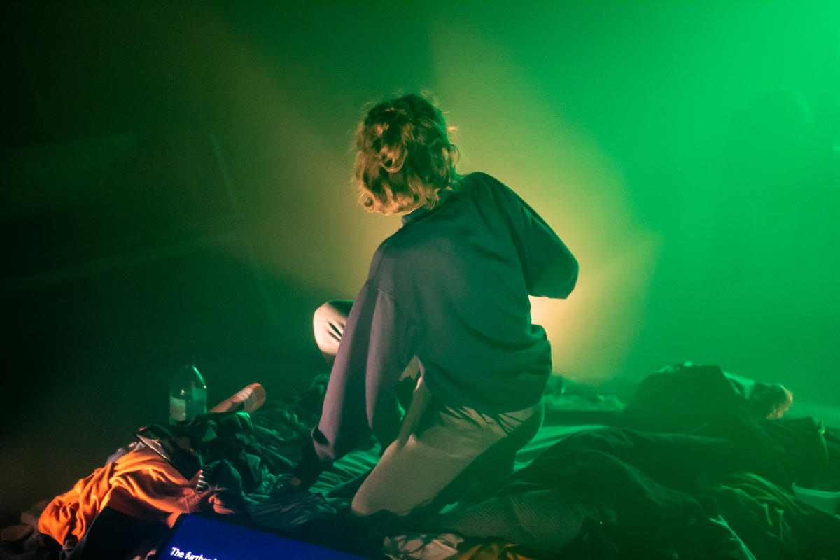 Photograph from Orangutan - lighting design by timothykelly