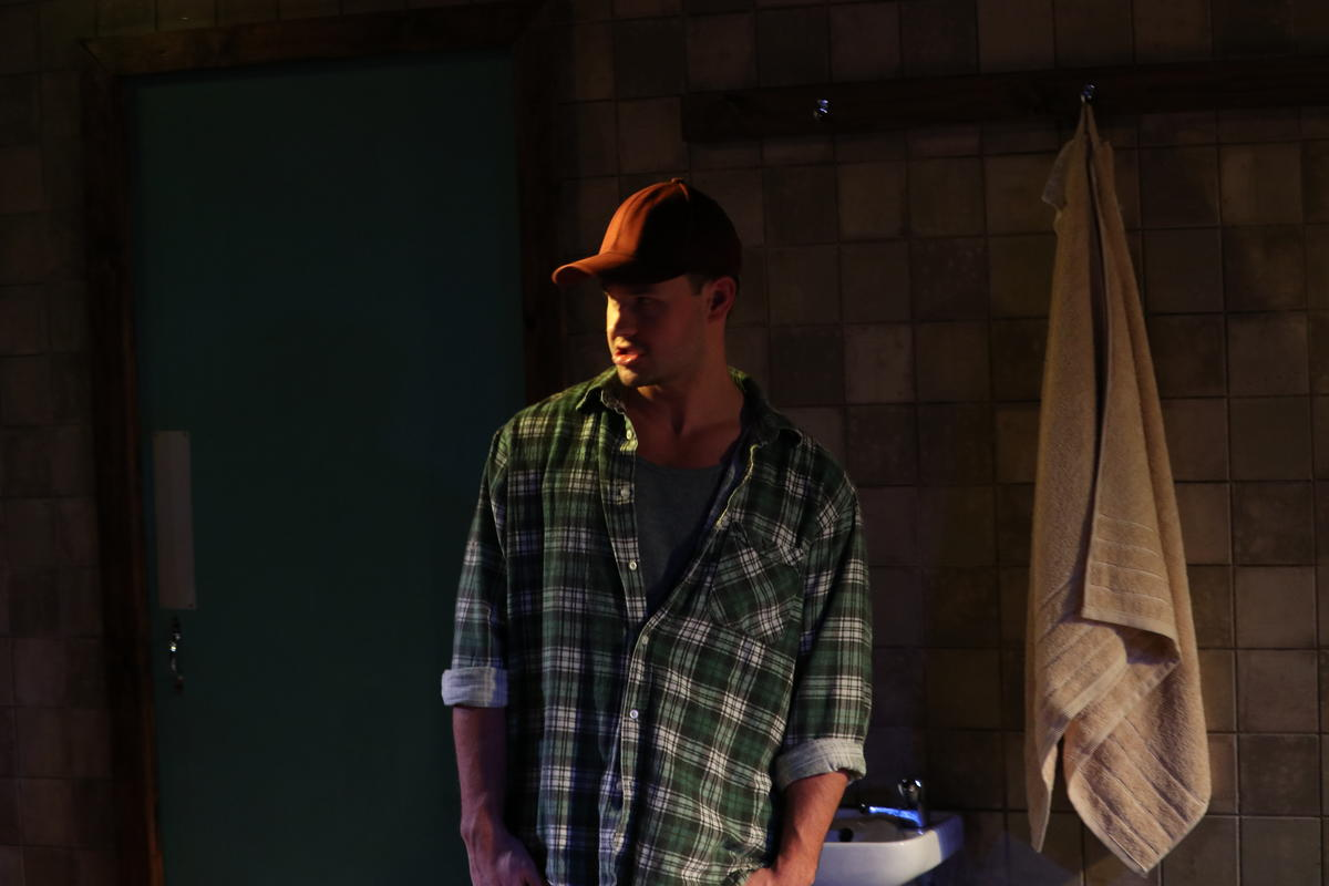 Photograph from Strangers In Between - lighting design by Richard Williamson