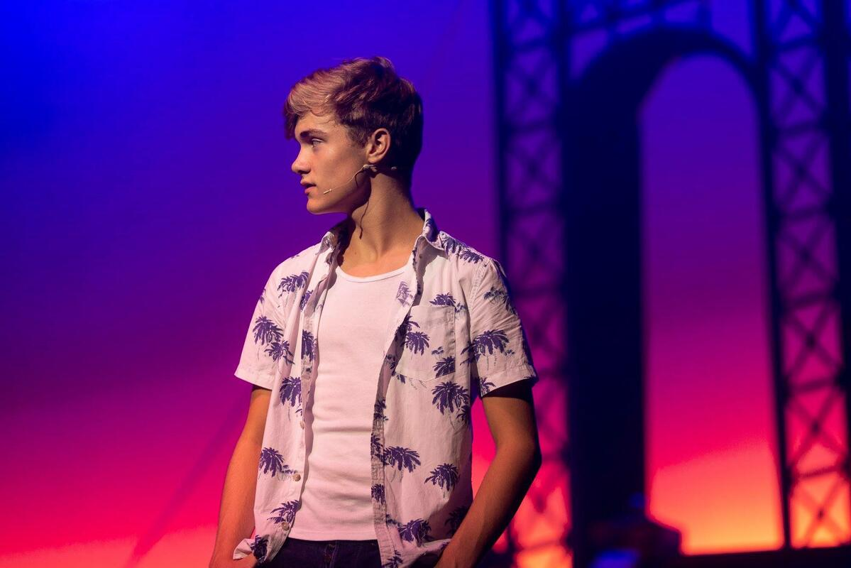 Photograph from In the Heights - lighting design by JimmiRichardson