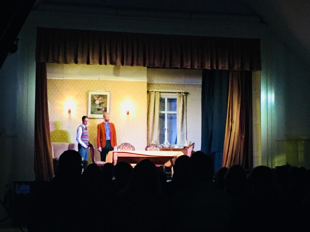Photograph from Table Manners - lighting design by HeleneSmithLx