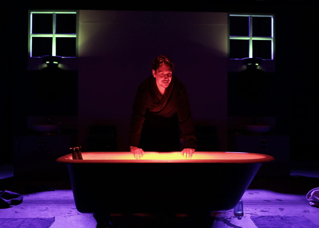 Photograph from MYDIDAE - lighting design by Joseph Ed Thomas