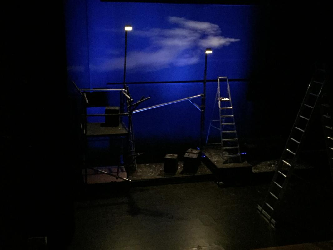 Photograph from Remote - lighting design by Jason Addison