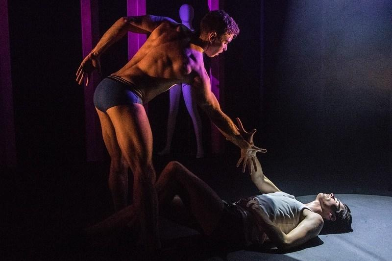 Photograph from Boy Toy - lighting design by Joseph Ed Thomas