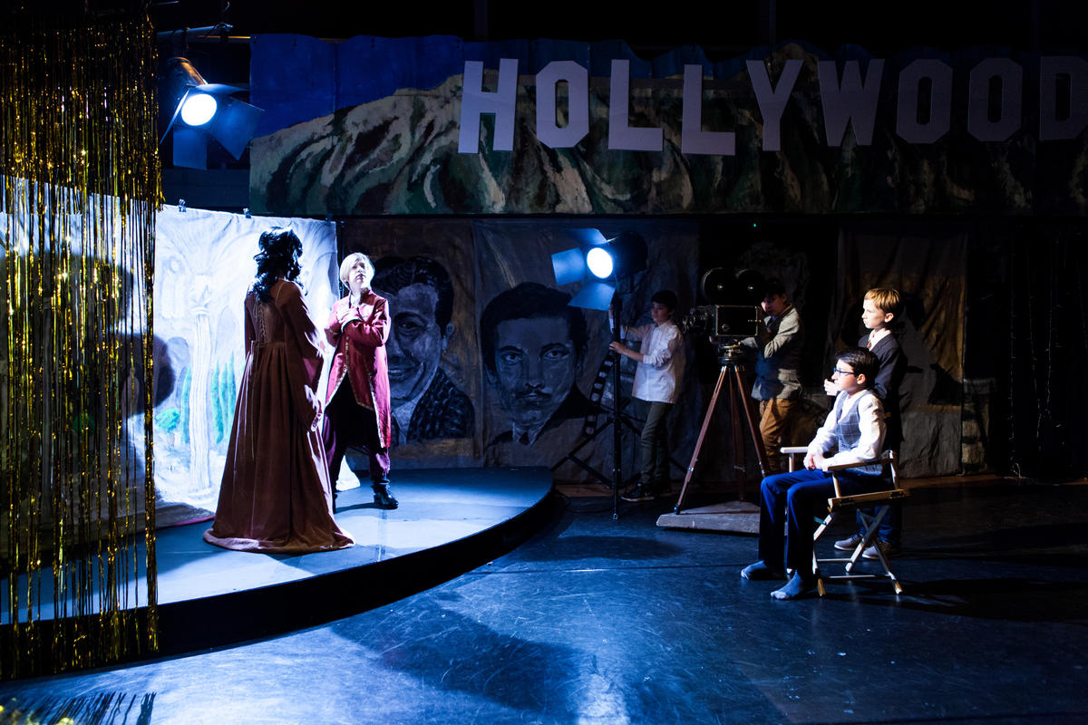 Photograph from Shakespeare in Hollywood - lighting design by alexander.davison