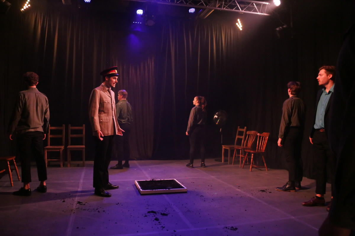 Photograph from Richard II - lighting design by rdayful1