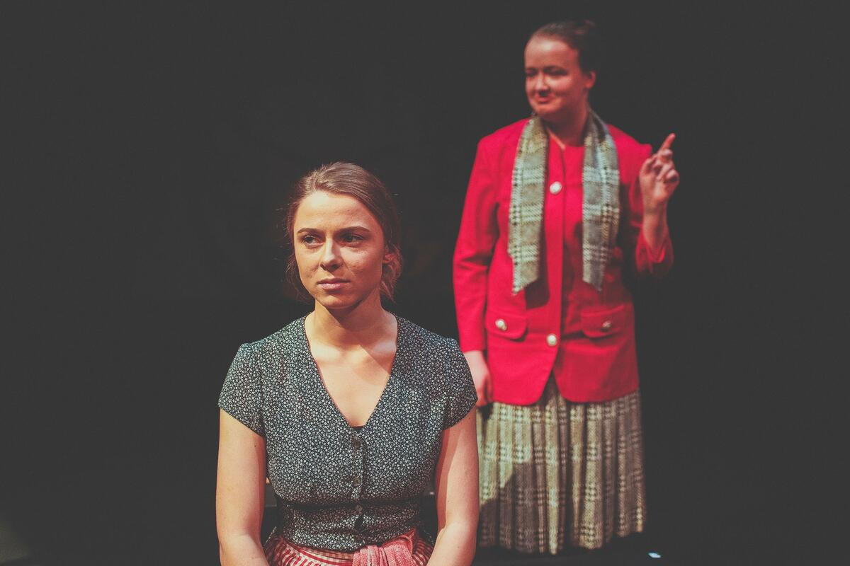 Photograph from The Children's Hour - lighting design by Ronan