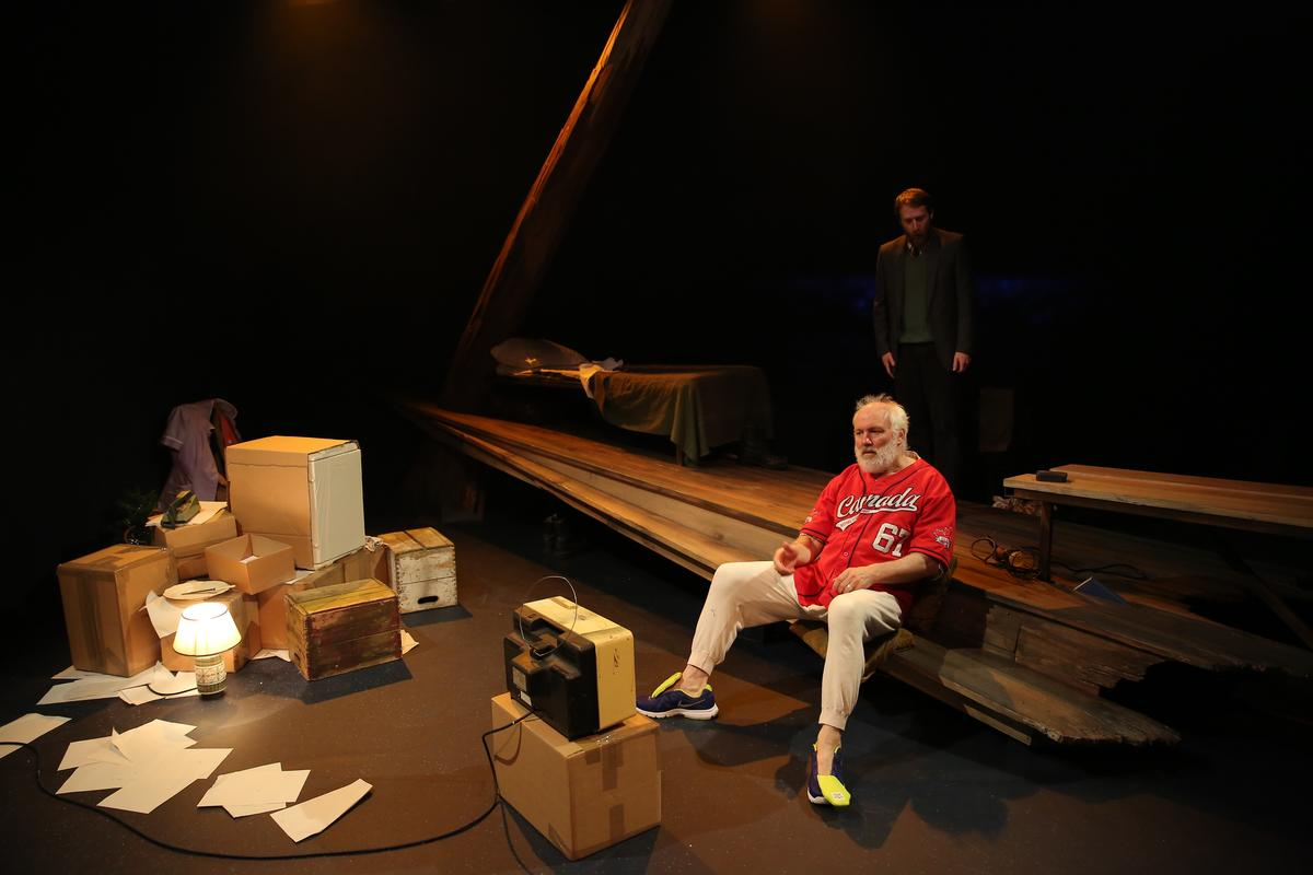 Photograph from In My Father's Word - lighting design by Grant Anderson