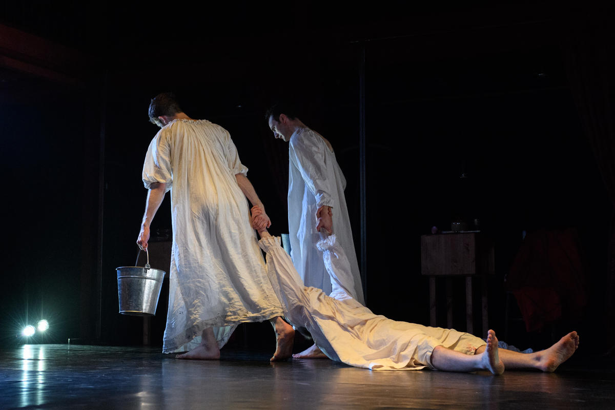 Photograph from Lady Macbeth: Unsex Me Here - lighting design by Laura Hawkins