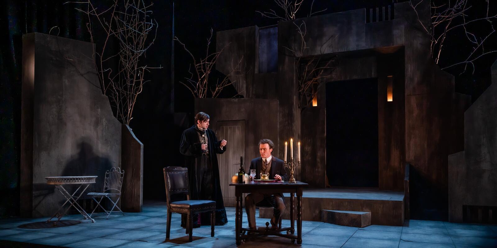 Photograph from Dracula - lighting design by James McFetridge