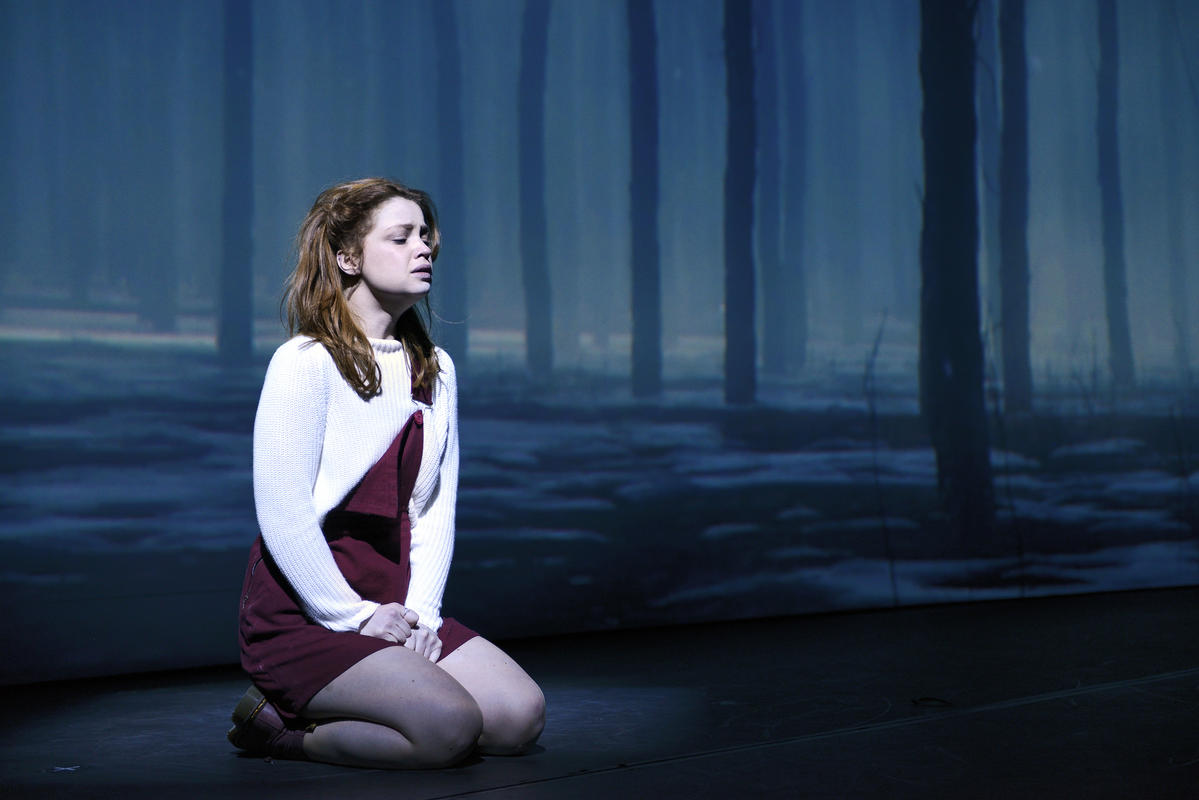Photograph from Sky, the musical in 3D - lighting design by Luc Peumans