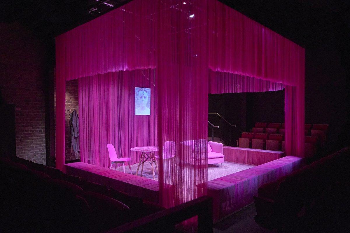 Photograph from The Little Pony - lighting design by Nigel Lewis