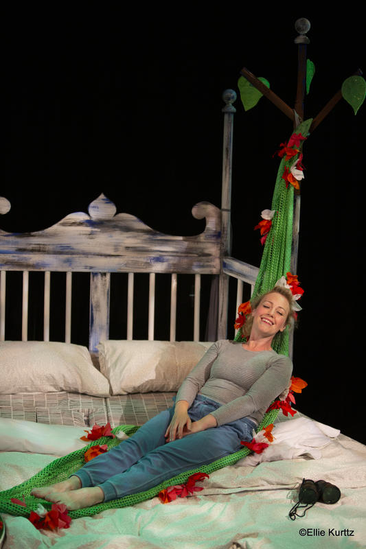 Photograph from The Bed - lighting design by Sherry Coenen