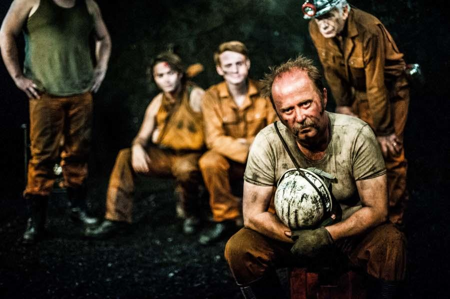 Photograph from Land of Our Fathers - lighting design by Chris May