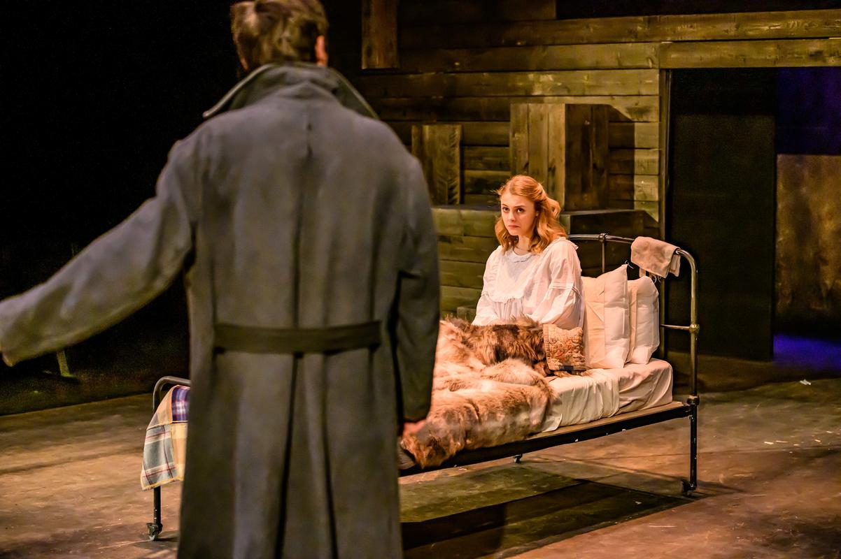 Photograph from Dark of the Moon - lighting design by James McFetridge