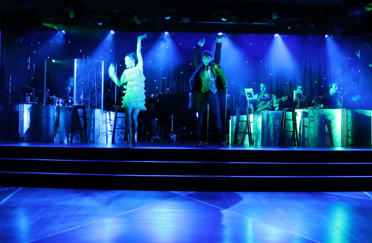Photograph from Nightlife - lighting design by David Totaro