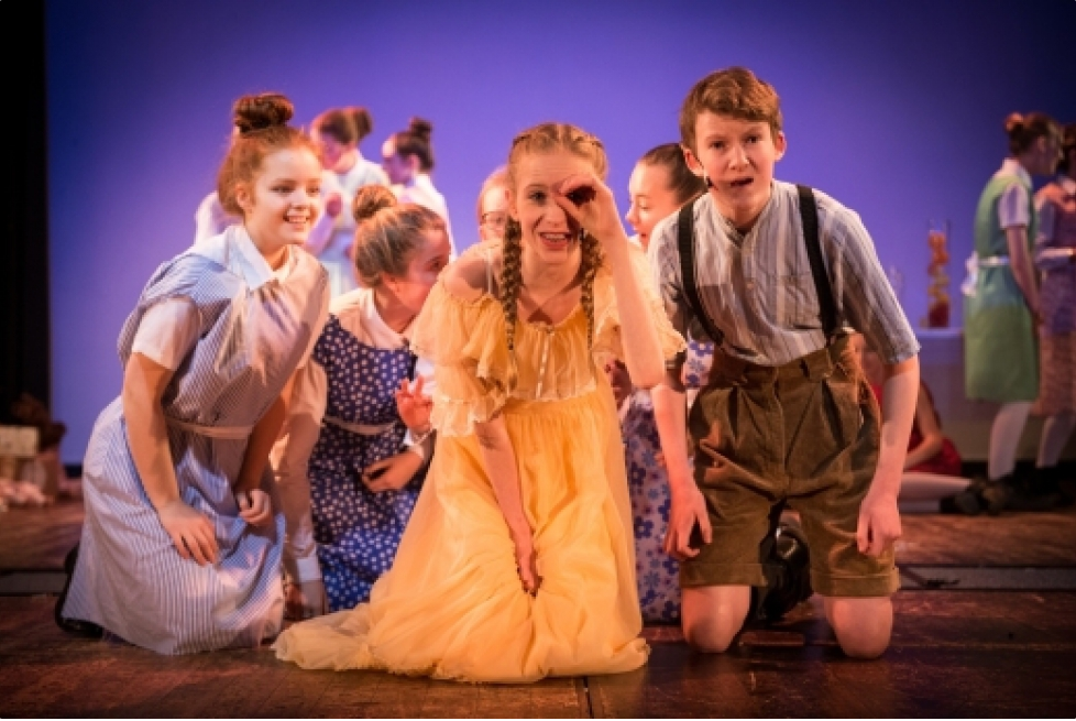 Photograph from The Nutcracker - lighting design by Rachel Cleary