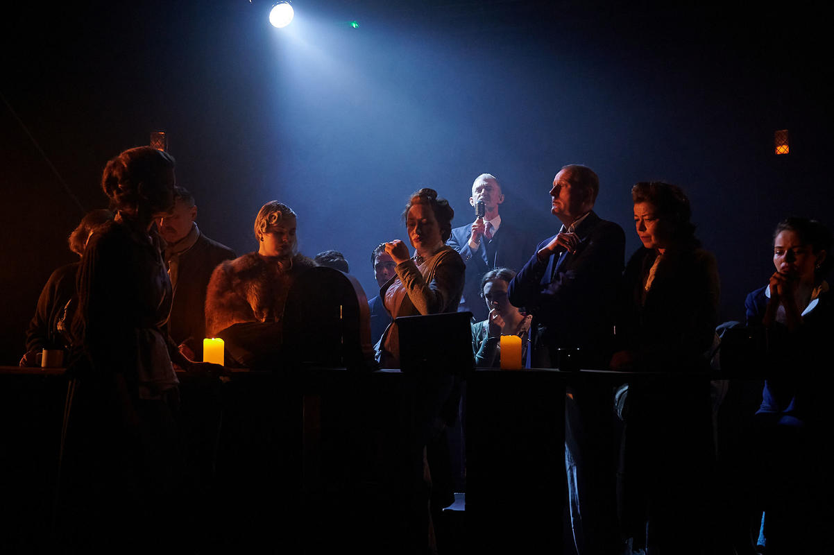 Photograph from Peace in Our Time - lighting design by harveyedg
