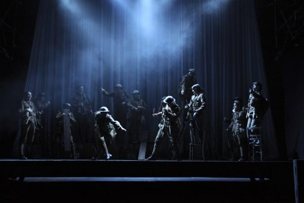 Photograph from Private Peaceful - lighting design by Tom White