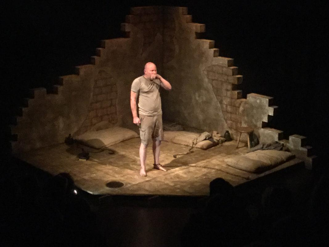 Photograph from Someone who'll watch over me - lighting design by Chris May