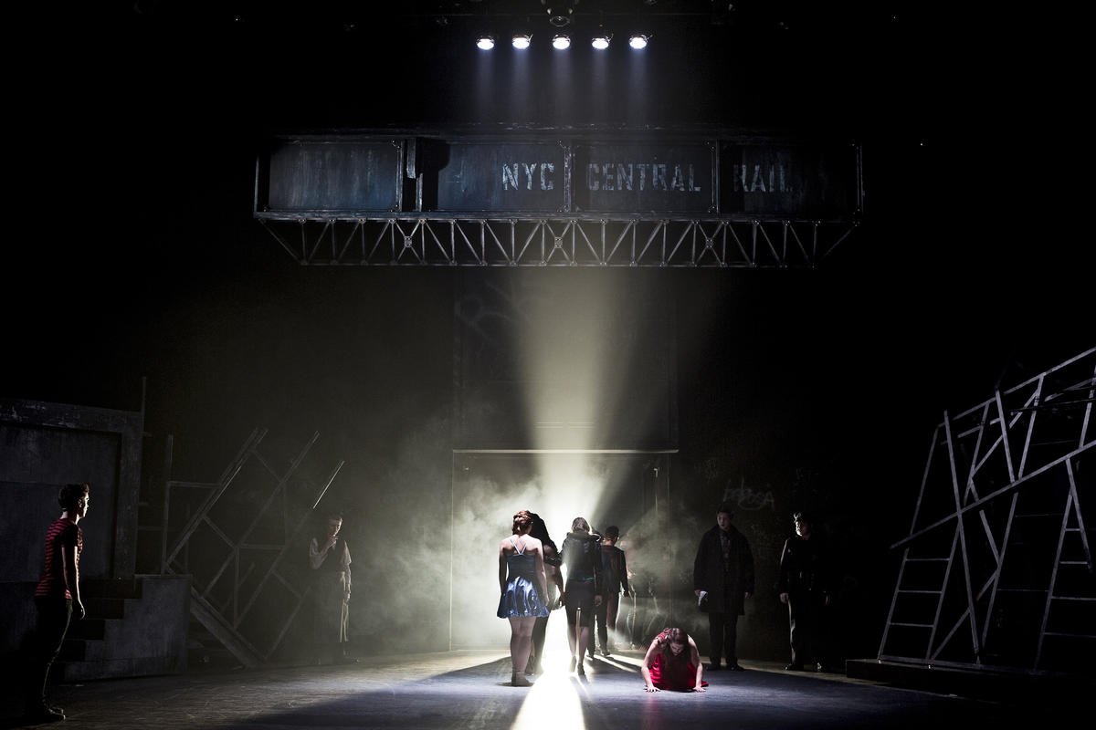 Photograph from West Side Story - lighting design by Robbie Butler