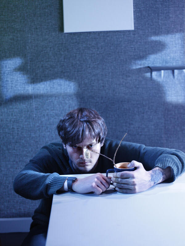 Photograph from Rocky Road - lighting design by Ryan Stafford