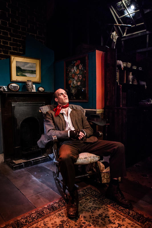 Photograph from I didn't always live here - lighting design by Brendan Albrey