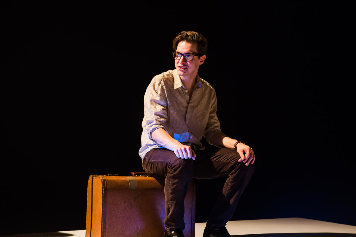 Photograph from The Talented Mr Ripley - lighting design by Christopher Withers