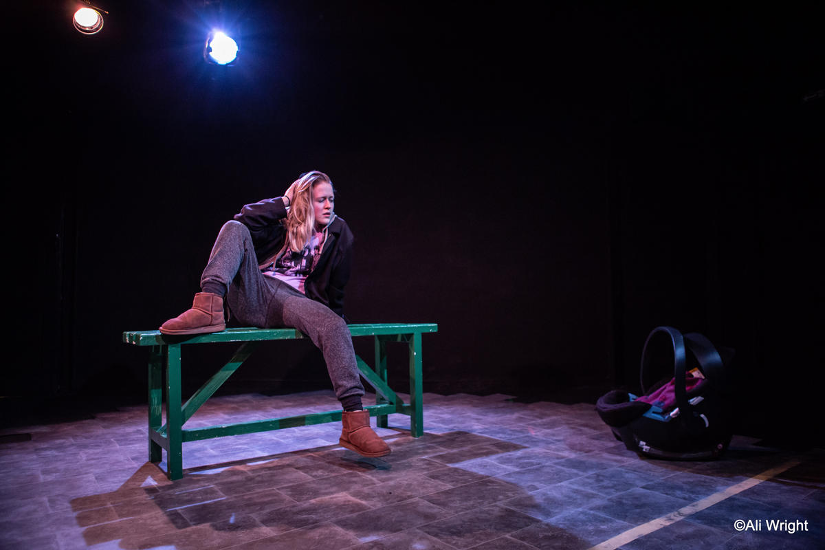 Photograph from Rattled - lighting design by Sherry Coenen