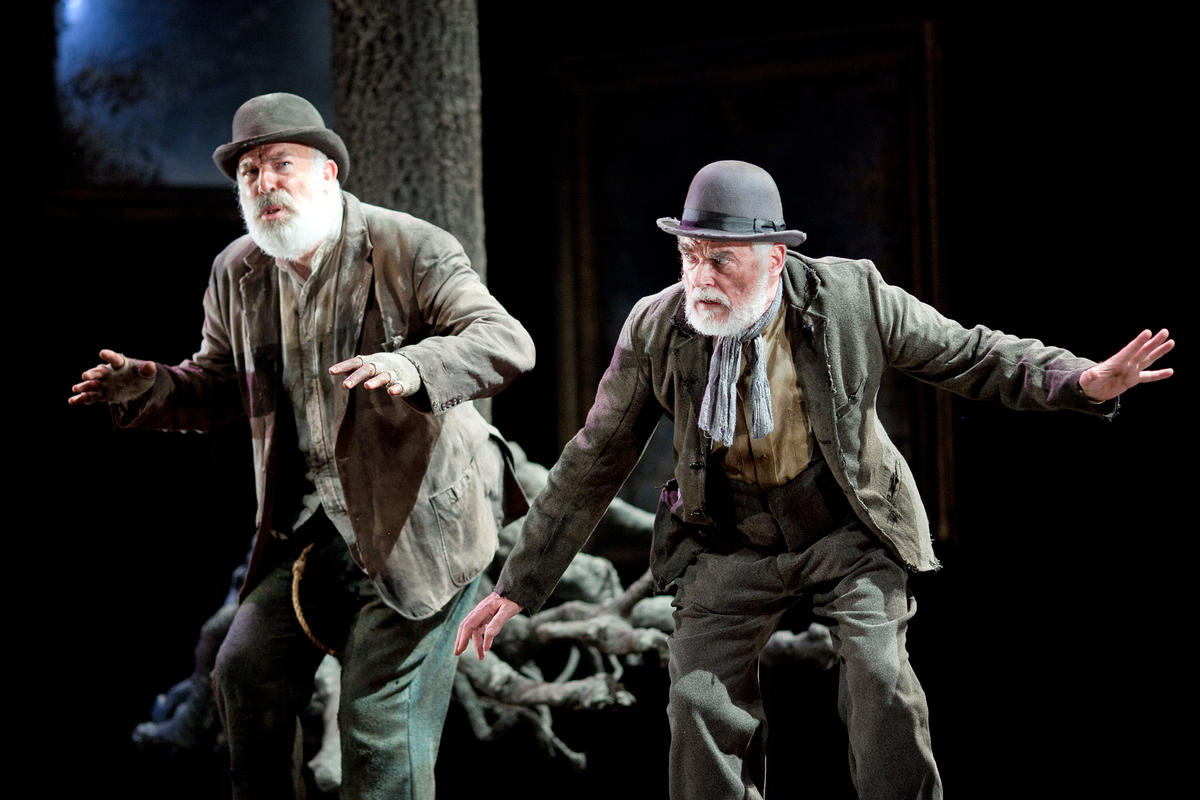 Photograph from Waiting for Godot