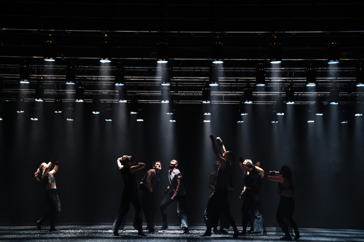 Photograph from Together, Not the Same - lighting design by Ryan Stafford