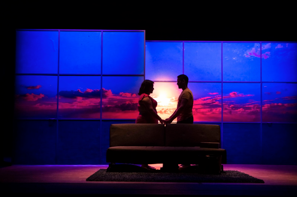 Photograph from Pyar Actually - lighting design by Jack Weir