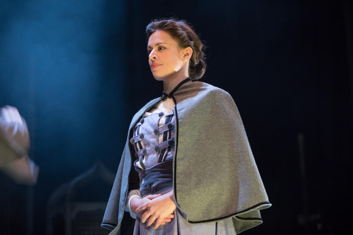 Photograph from Sherlock Holmes - The Sign of Four - lighting design by Claire Childs