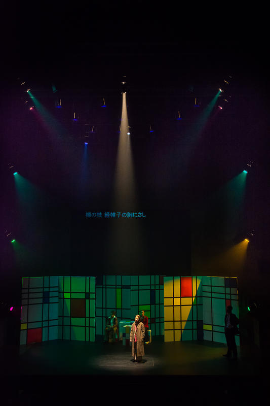Photograph from Twelfth Night - lighting design by Edward Saunders