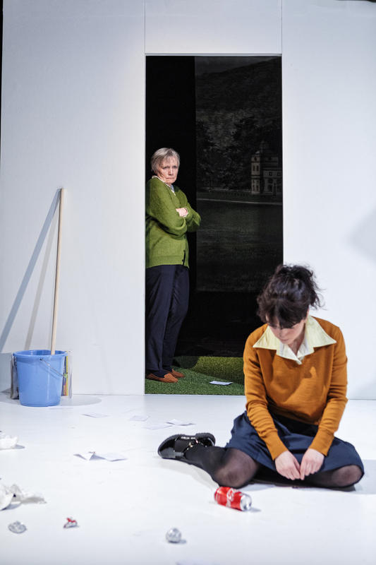 Photograph from Trap Street - lighting design by Joshua Gadsby