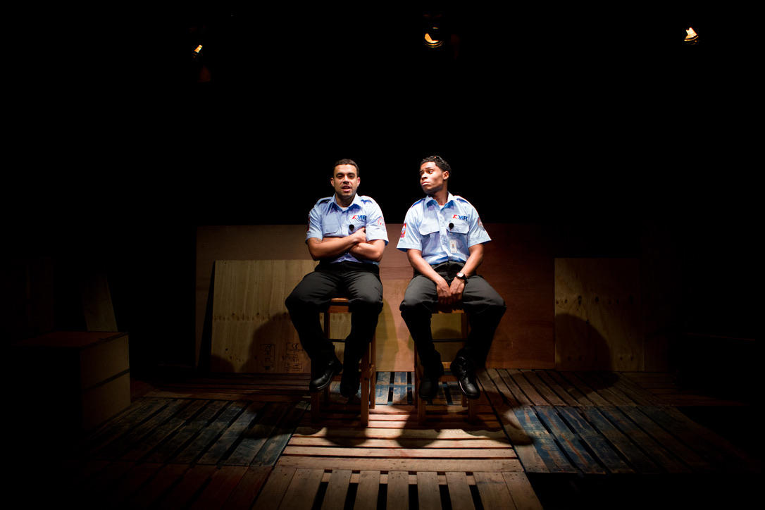 Photograph from The Play About My Dad - lighting design by Ali Hunter