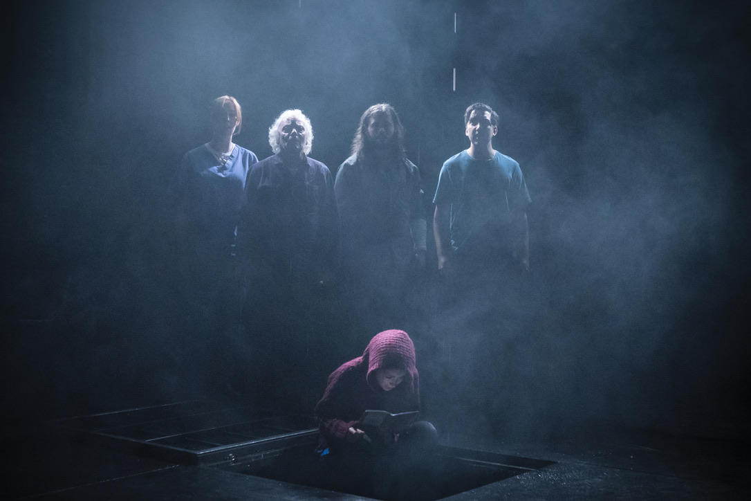 Photograph from Clear White Light - lighting design by Ali Hunter