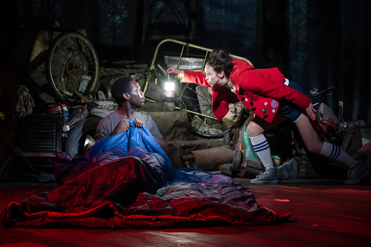 Photograph from Into The Woods - lighting design by JacobGowler