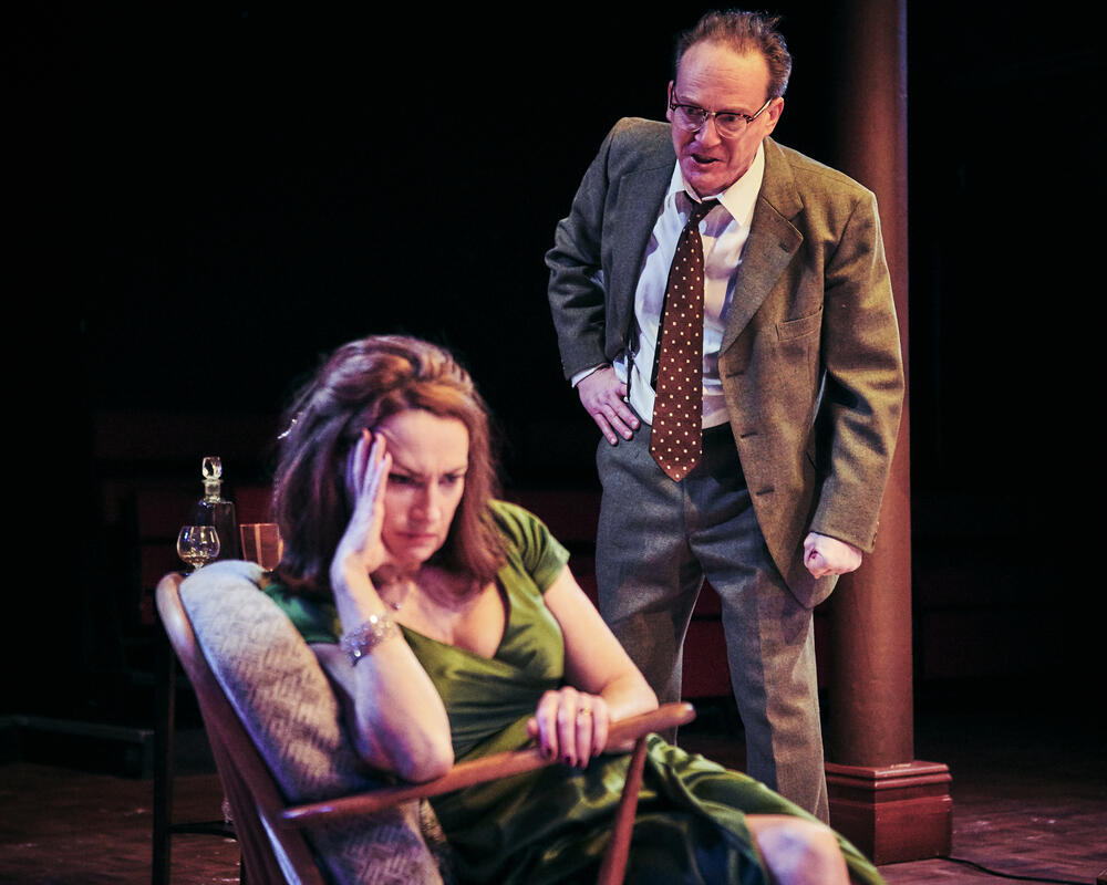 Photograph from Who's Afraid of Virginia Woolf? - lighting design by Chris Swain