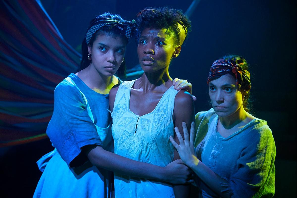Photograph from Yerma - lighting design by Nigel Lewis